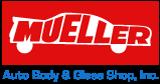 Mueller Auto Body & Glass Shop logo