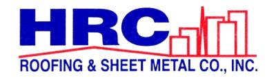 HRC Roofing & Sheet Metal logo