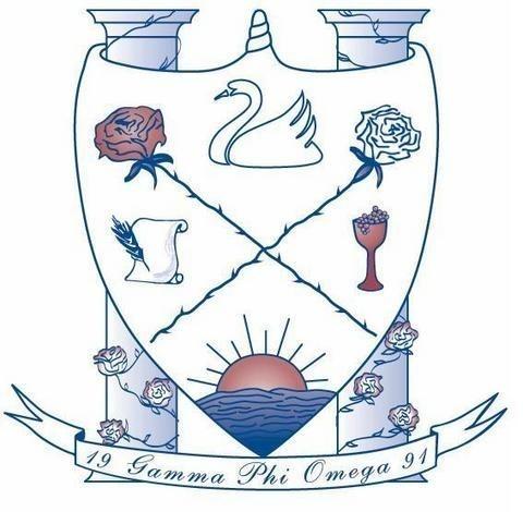 Gamma Phi Omega logo